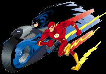 Flash clipart batman Flash: The (The Animated Batman