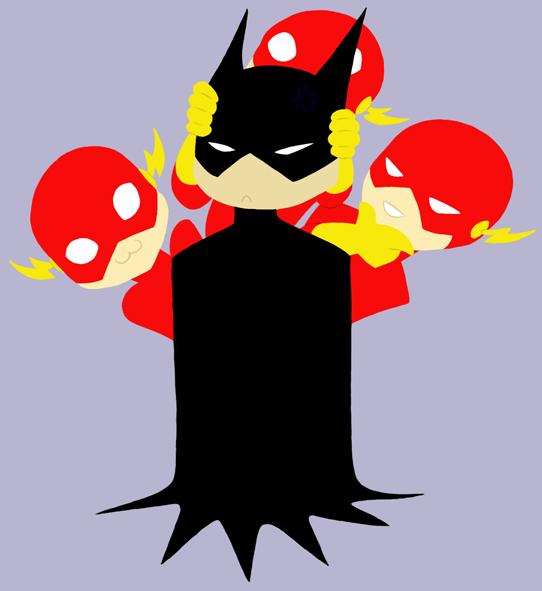 Flash clipart batman And Batman chibijaime Flash Flash