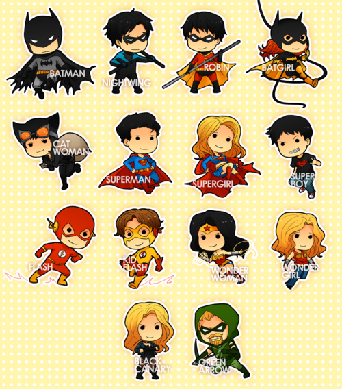 Flash clipart batman and robin Robin Batgirl Superman Robin Chibi