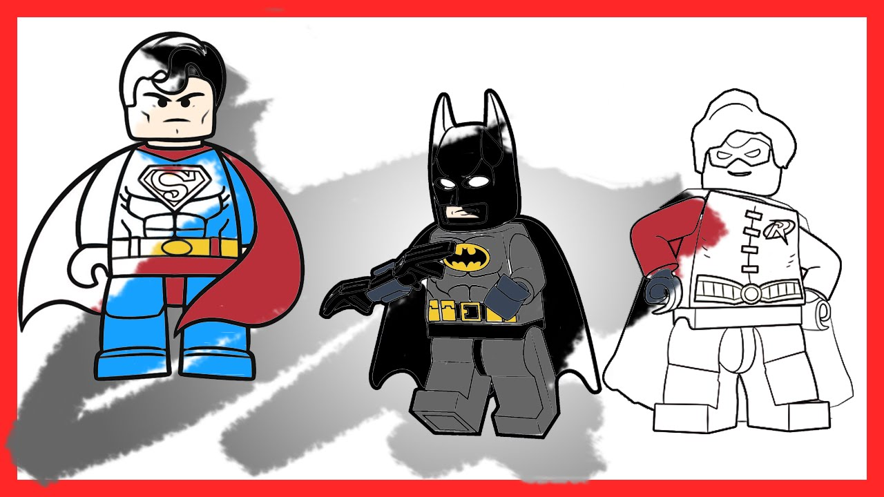 Flash clipart batman and robin Robin VS Batman for LEGO