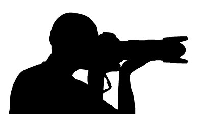 Professional clipart black and white Camera Panda Clipart Silhouette Camera