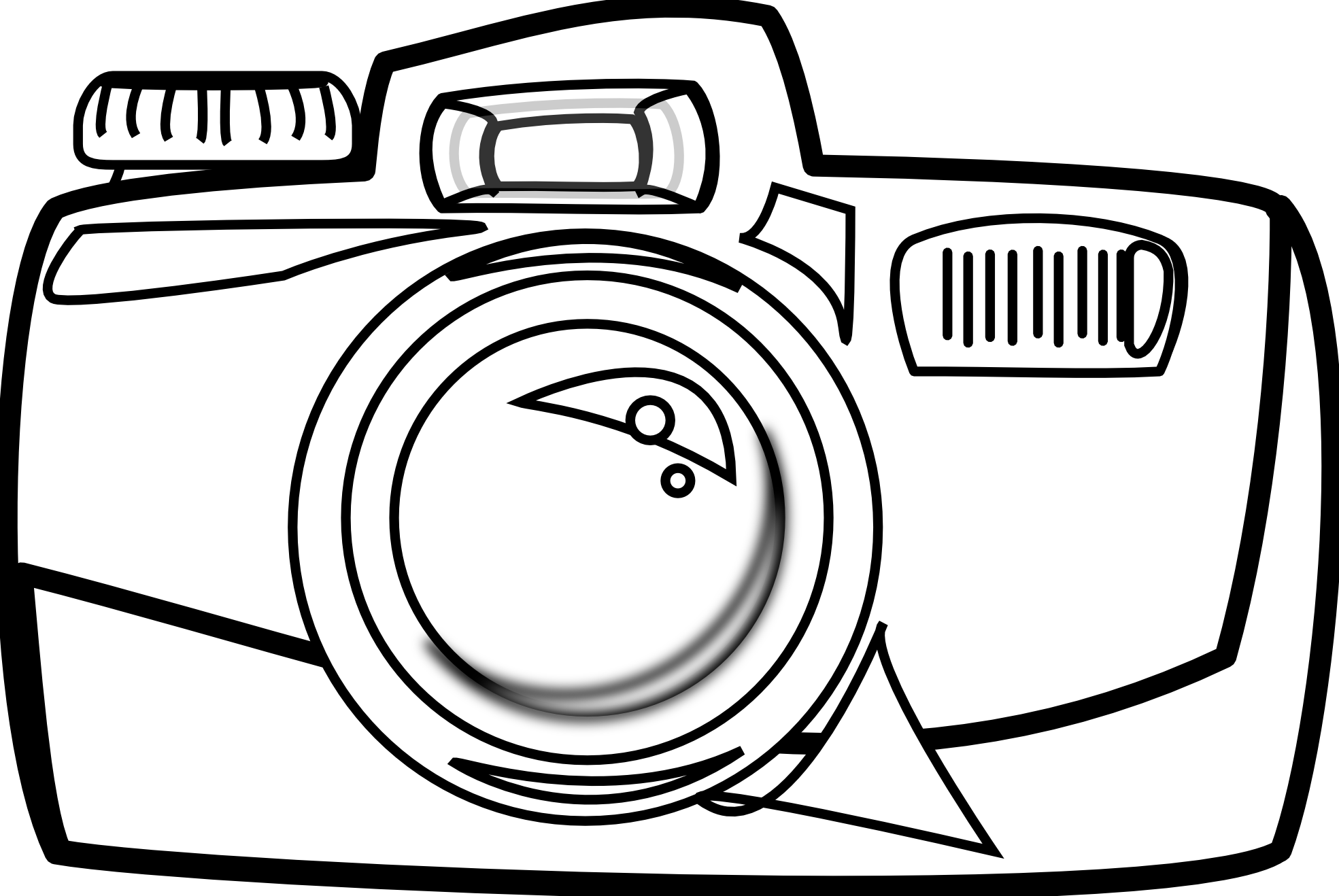 Flash clipart cartoon camera Collection clipart black Camera Black