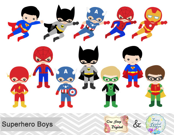 Superman clipart little superhero Superhero Flash Flash boy