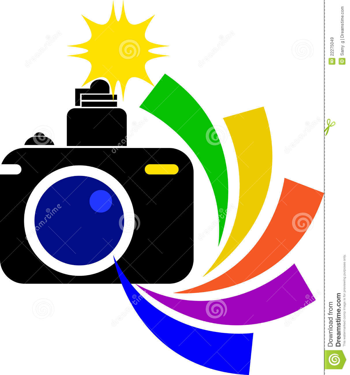 Flash clipart digital photography Free Images Clipart Camera Illustration