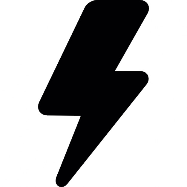 Flash clipart electric current Electric Bolt current PSD Lightning