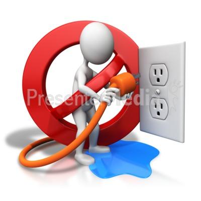 Flash clipart electric current Water PowerPoint Hazard Great Hazard