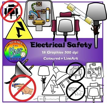 Flash clipart electrical wire • Overloading of (Coloured Lineart)