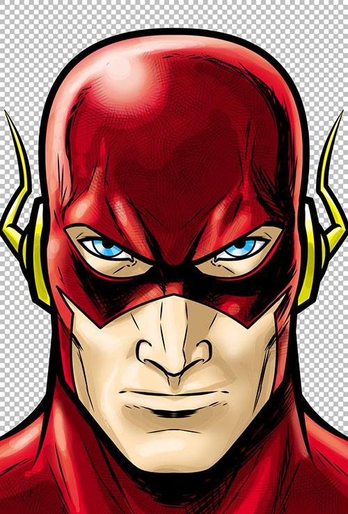 Flash clipart face Shots Head Villains Flash