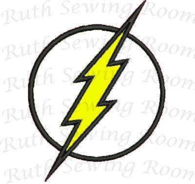 Flash clipart flash logo Logo Applique flash Design Patch
