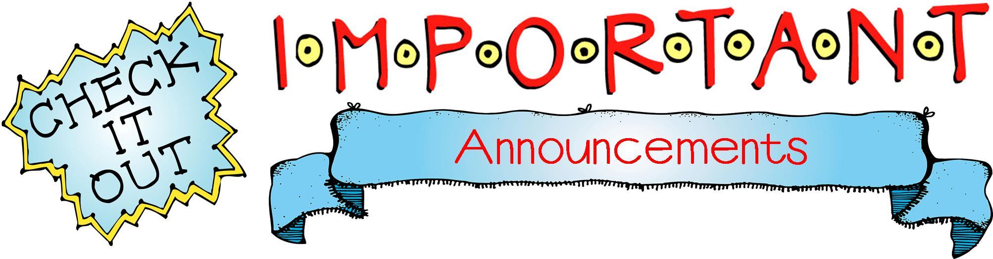 Flash clipart important announcement Clip Repin Art Announcement on