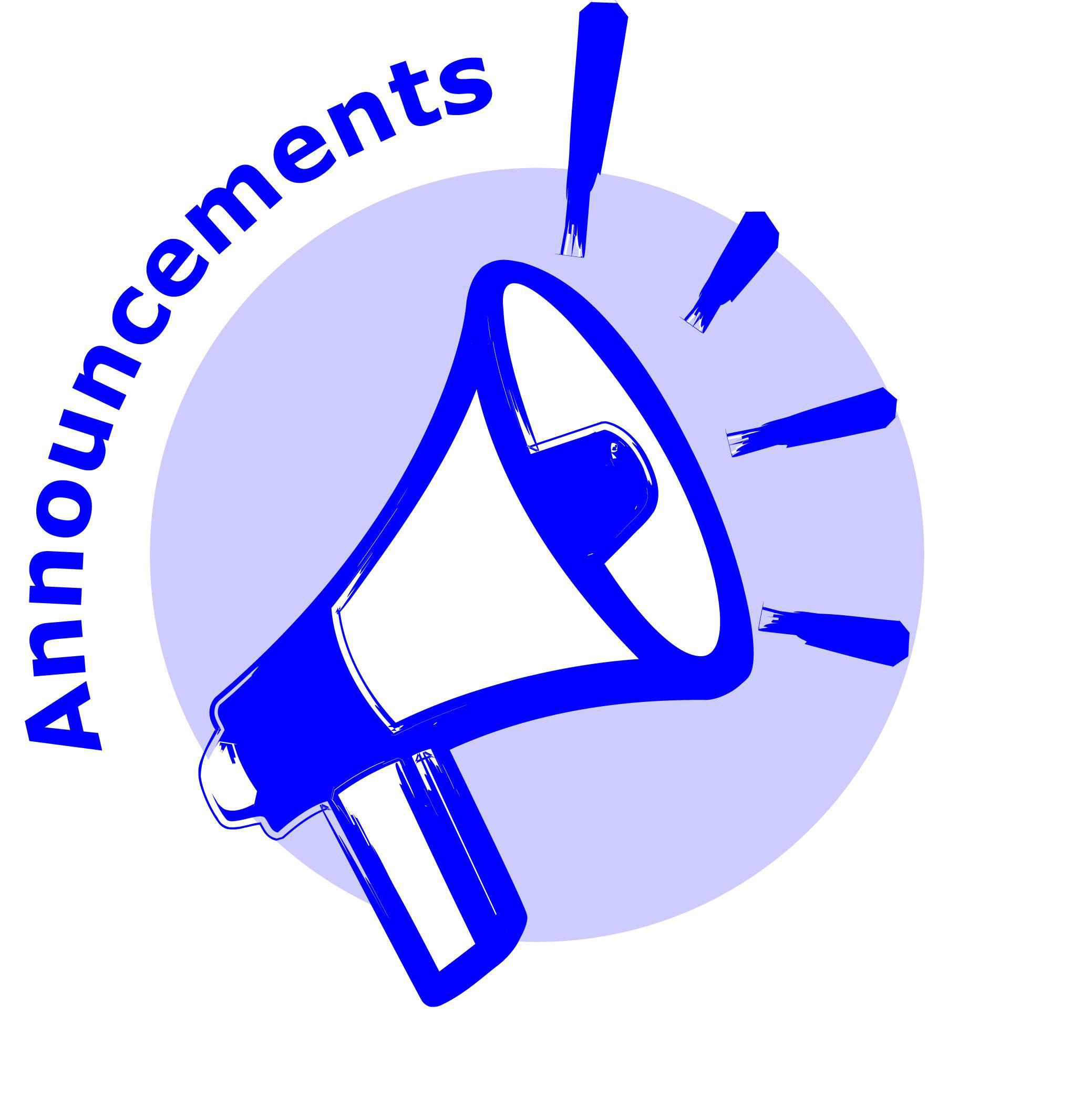 Flash clipart important announcement Images Announcement Illustrations Art Announcement