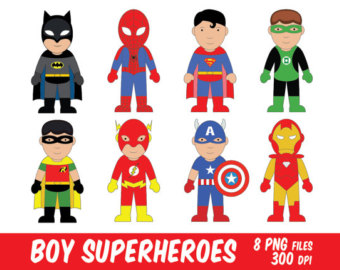 Flash clipart iron man Superman clipart kids clipart clipart