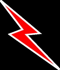 Flash clipart lightning bolt Logo Bolt Red Clip Red