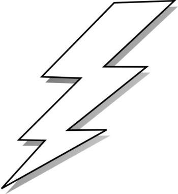 Flash clipart lightning bolt Clipart clipart Black Bolt