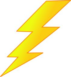 Flash clipart lightning strike Art stencil strike bolt art