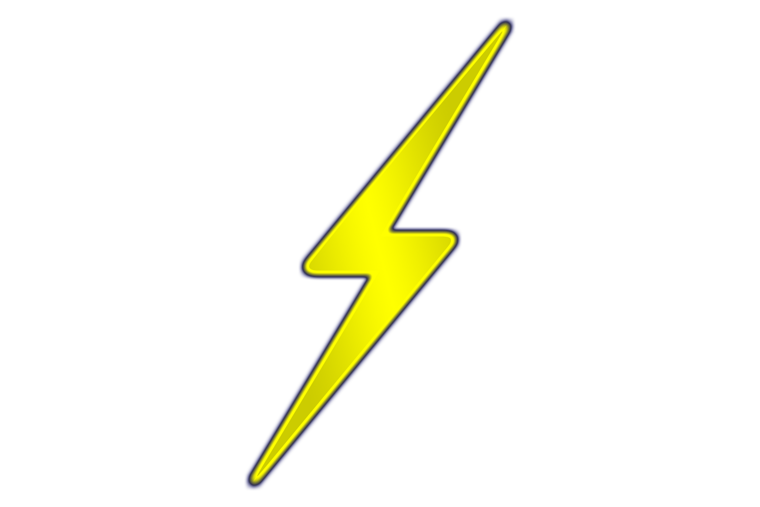 Lightening clipart silhouette Art Lightning Bolt Logo Art