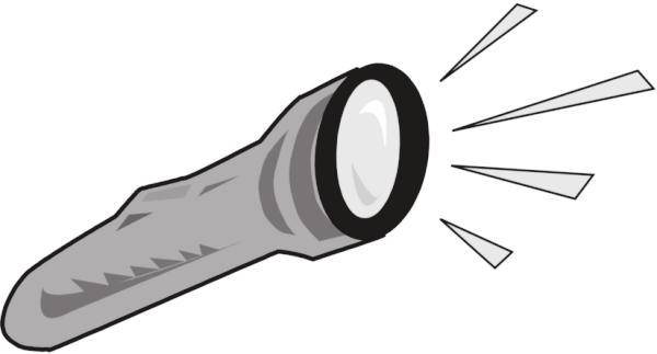 Flash clipart ligth Flashlight 1 clip Free Art