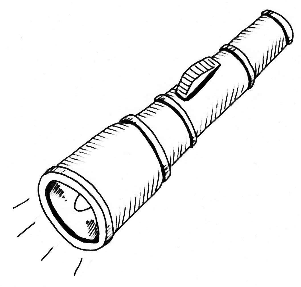 Flash clipart ligth For page images Flashlight Flashlight