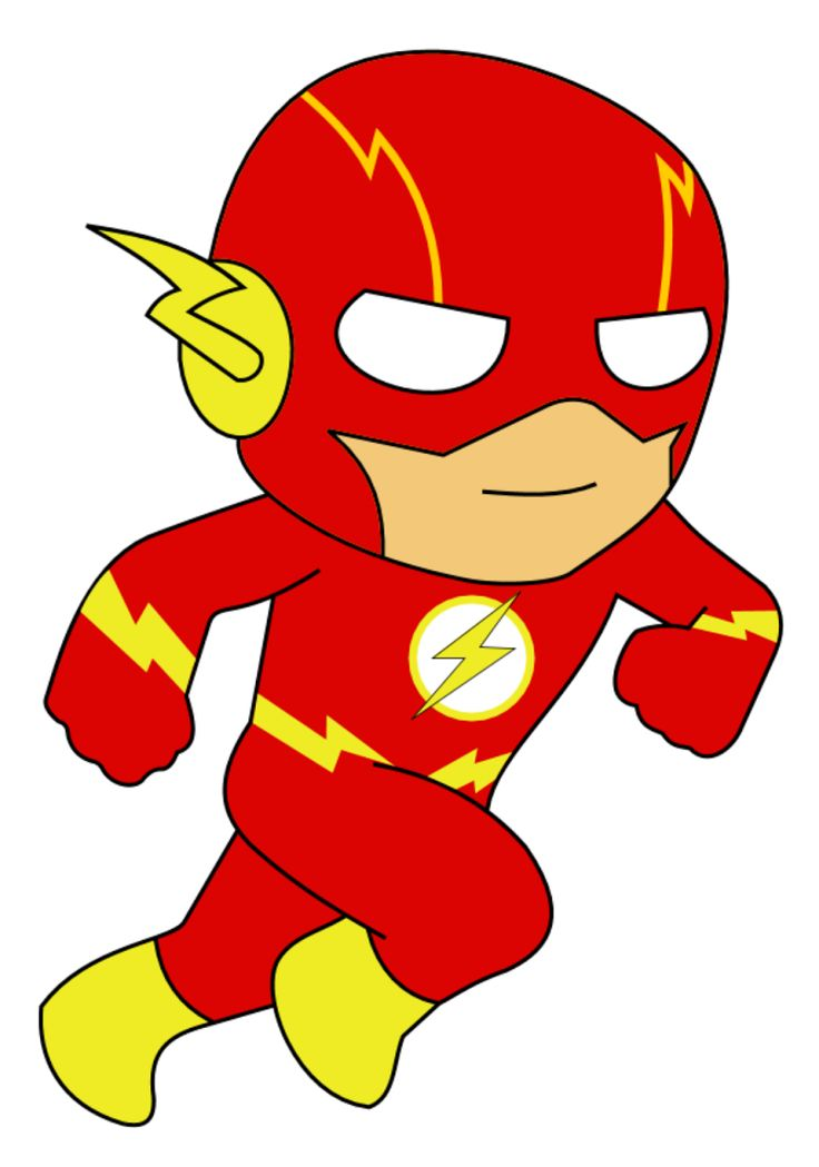 Flash clipart little superhero Superhero best Pinterest Flash about