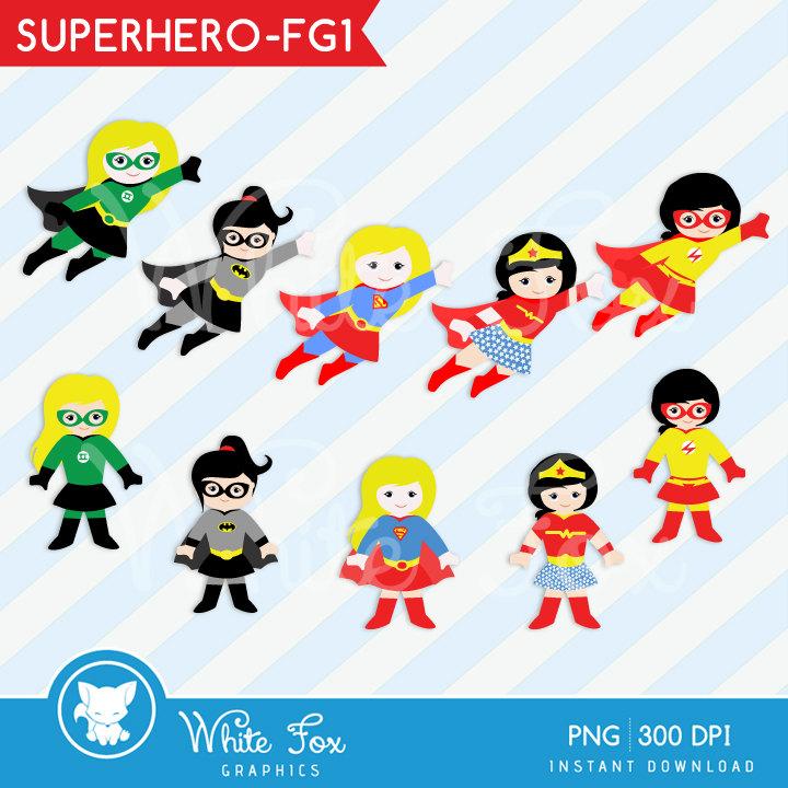 Flash clipart little superhero Clipart SALE Etsy clip Personal
