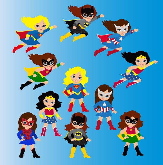 Superman clipart little superhero Girls for  Girls Little