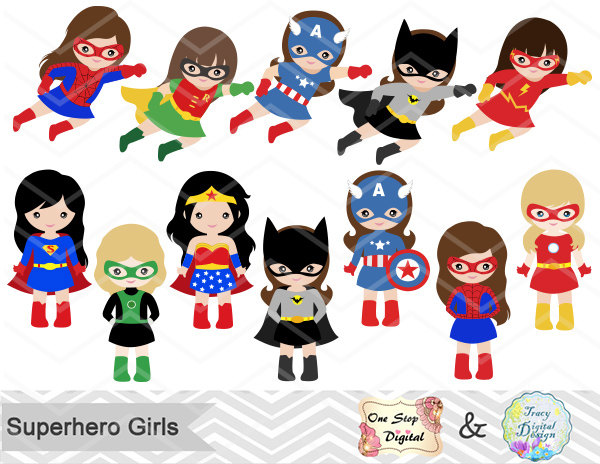 Spiderman clipart little boy Little Party Girls Super Superhero