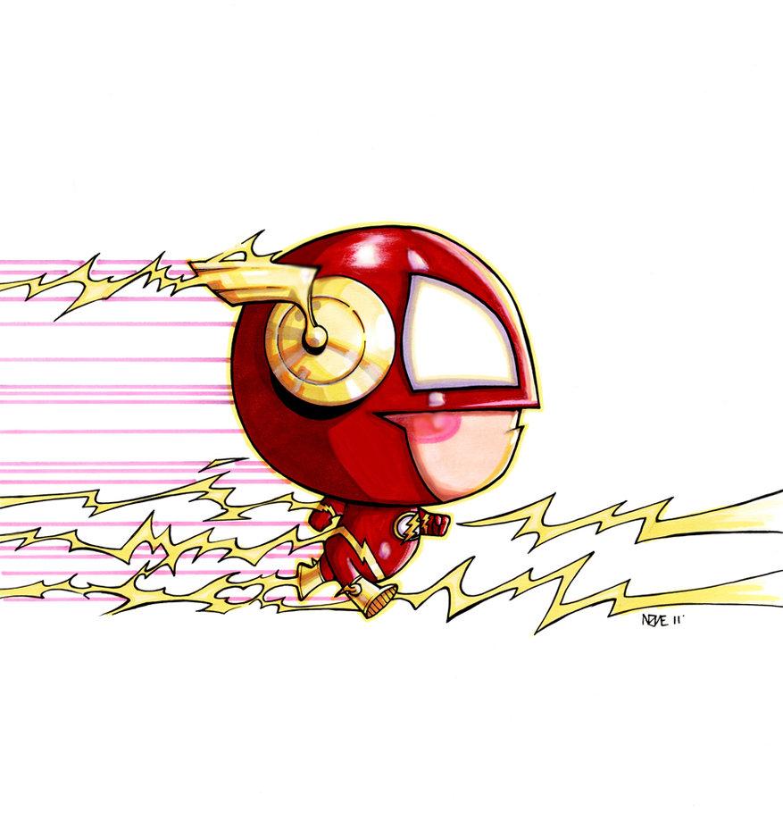Flash clipart marvel GOSH by Flash Baby Flash