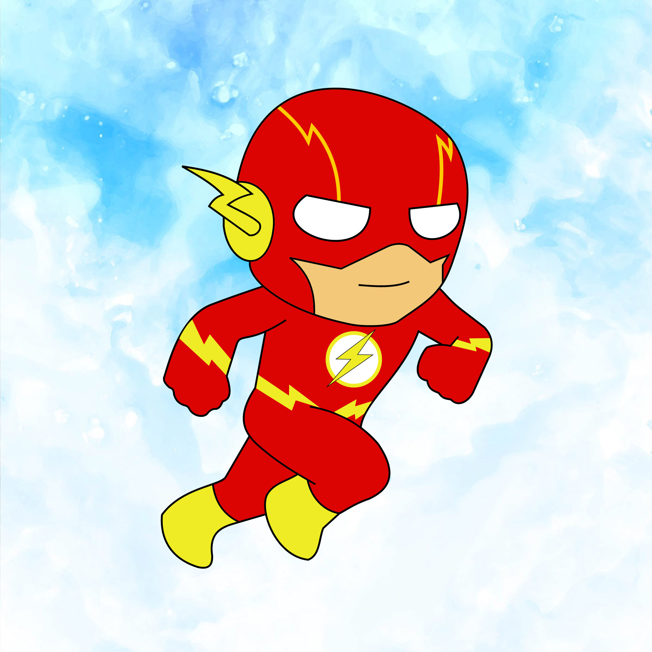 Flash clipart marvel Flash flash Flash Svg Etsy