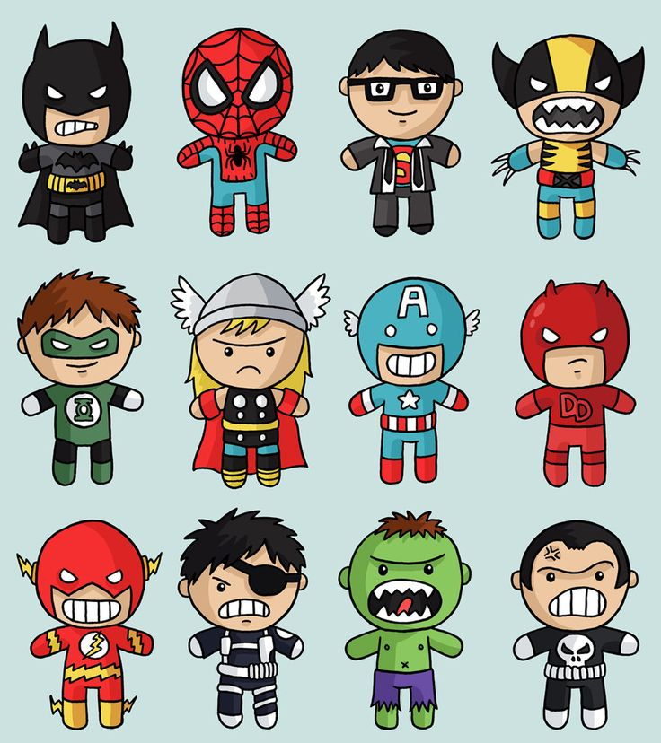 Flash clipart marvel hero These cute baby in freakin