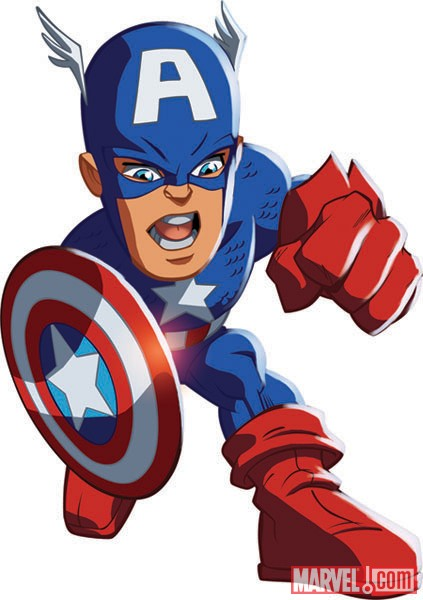 Flash clipart marvel hero Squad the Man Marvel in