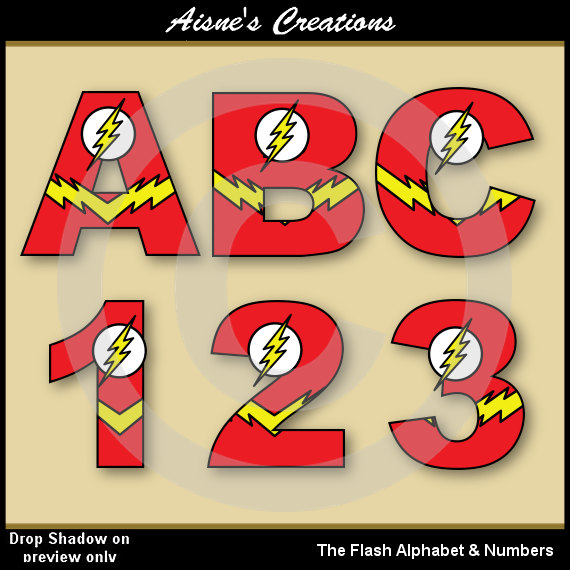 Flash clipart party (Justice Clip Numbers Numbers