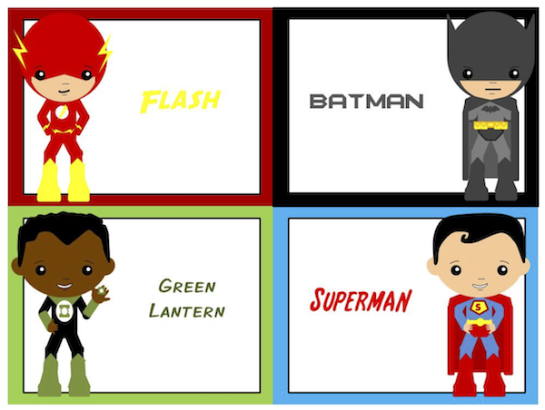 Flash clipart party Printables Planning Party? – Superhero