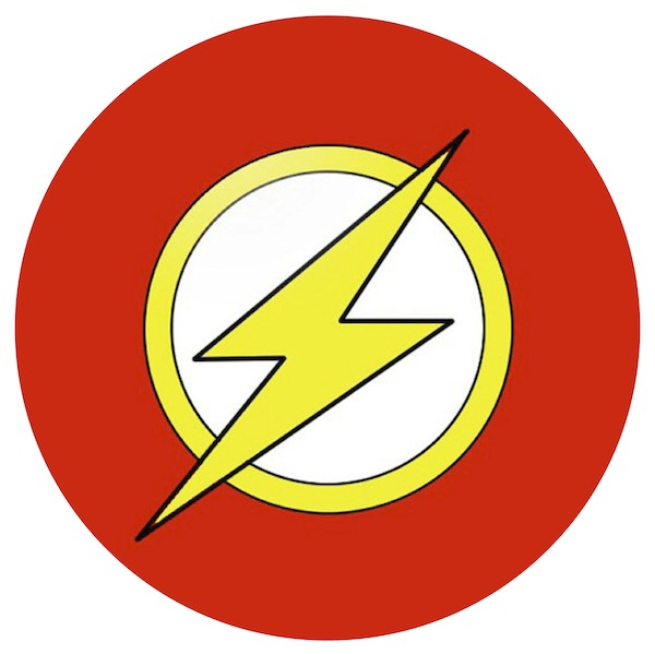 Flash clipart printable Photos Art  Logo Superhero