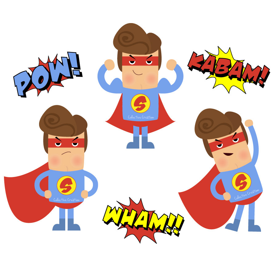 Iiii clipart superhero Clipartix hero Superhero art Flash