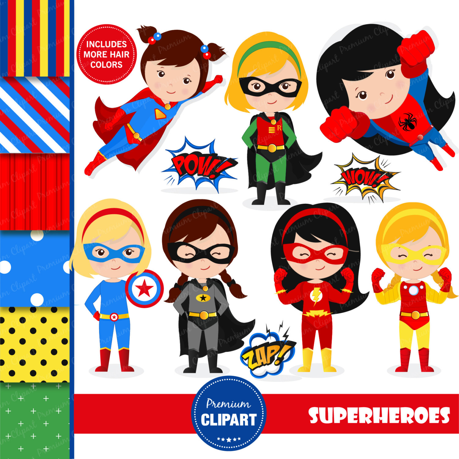 Flash clipart supe hero This is girl Superhero clipart