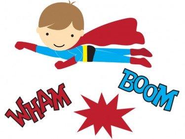 Iiii clipart superhero Next some Superhero Here party