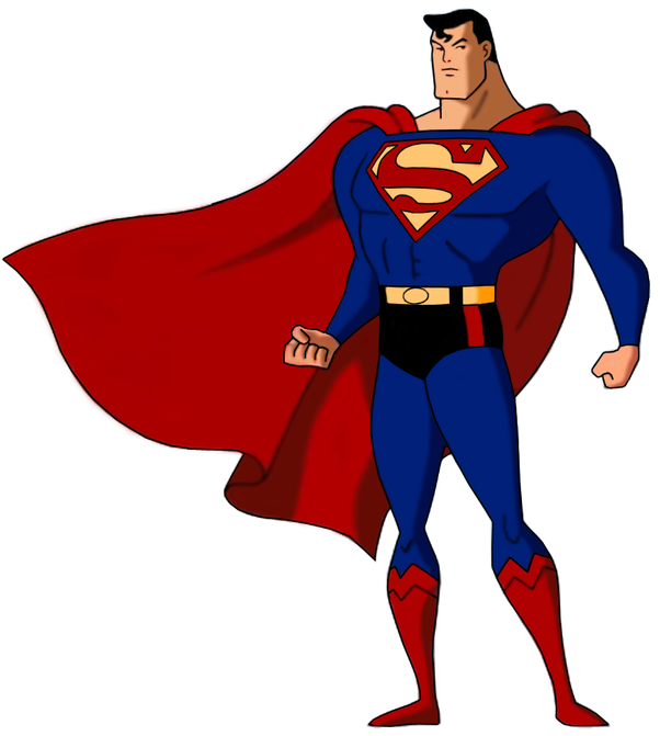 Flash clipart superhero body Is Superman is than means