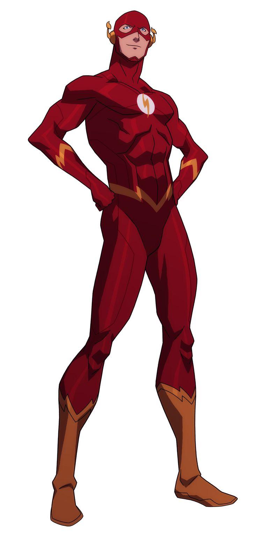 Flash clipart superhero character #8