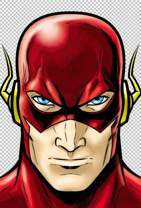 Flash clipart superhero character #15