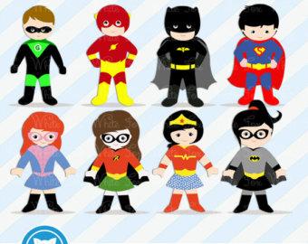 Iiii clipart superhero FREE SALE Superhero 50% /