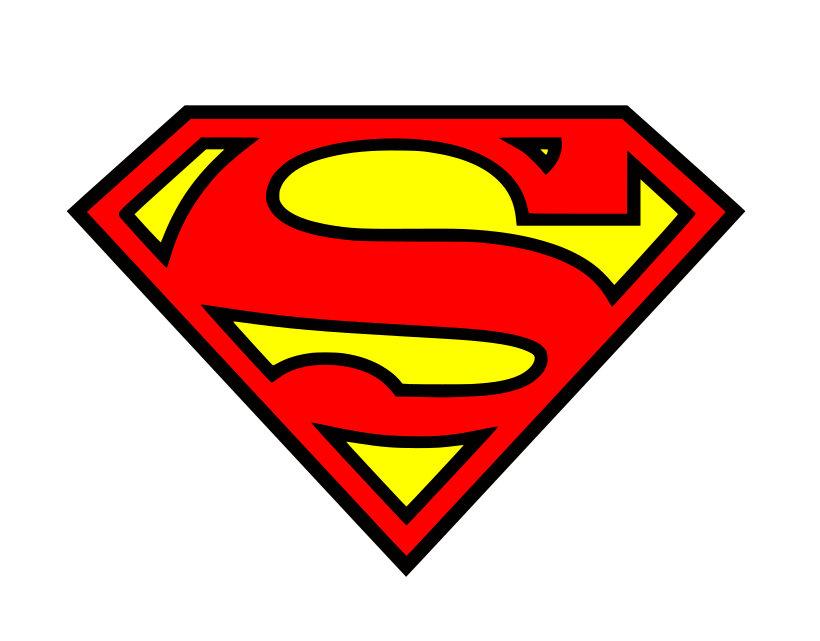 Superman clipart onesie Superhero SVG sign superman dxf