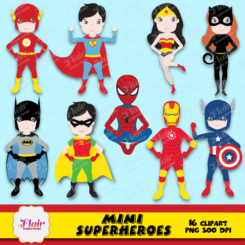 Catwoman clipart wonder woman Digital Superman SUPERHEROES is a