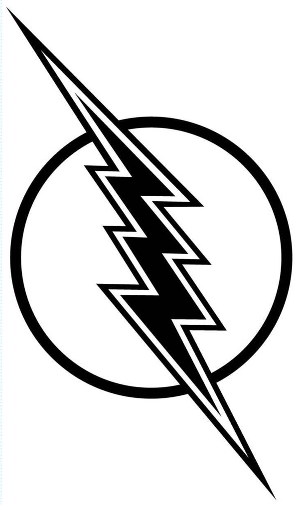 Flash clipart symbol outline #6
