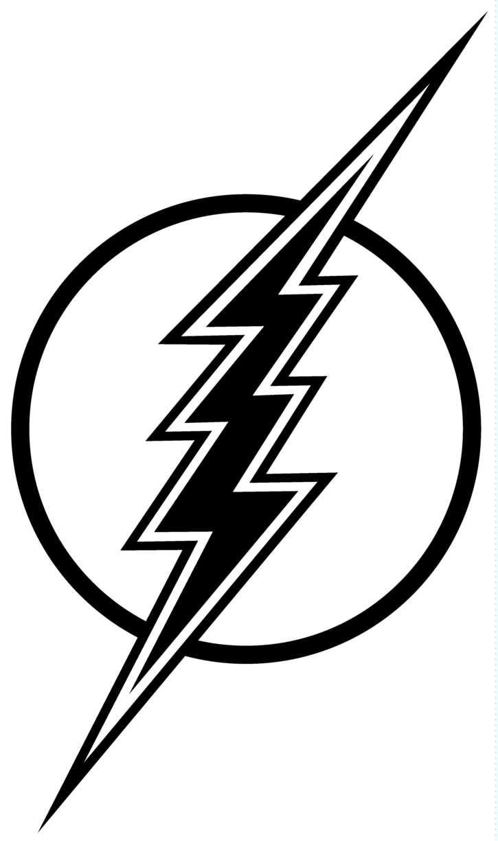 Flash clipart symbol outline #8