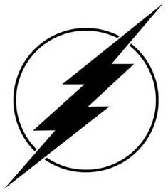 Flash clipart symbol outline #3