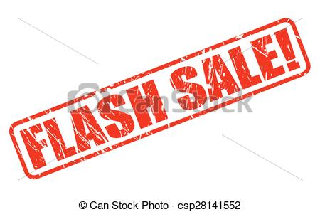 Flash clipart the red Red text sale Vector white