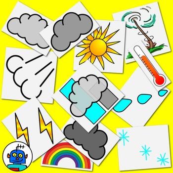 Flash clipart thunder and lightning Thunder Foggy hot sunny snowy