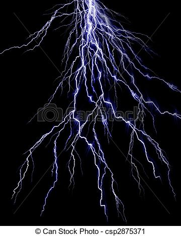 Flash clipart thunder and lightning Csp2875371 Clipart black flash of