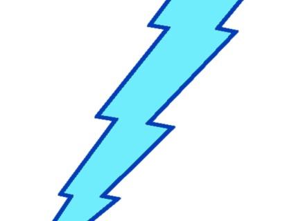 Flash clipart thunder and lightning Thunder Blue YouTube Motion