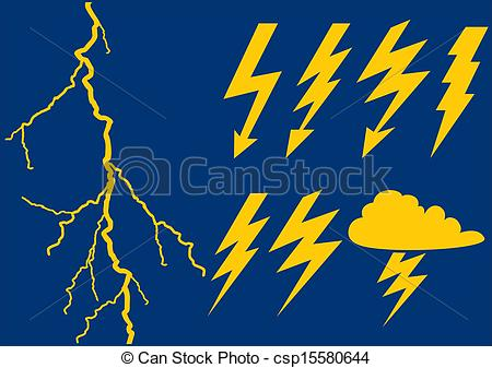 Flash clipart thunderbolt Illustration lightning background flash Vector
